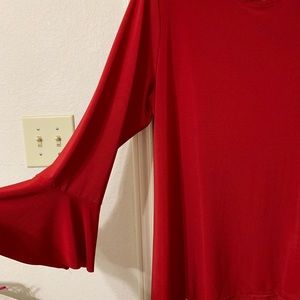 Tops - Red Tunic...
